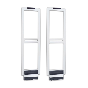 Wide doorway sound magnetic supermarket security door